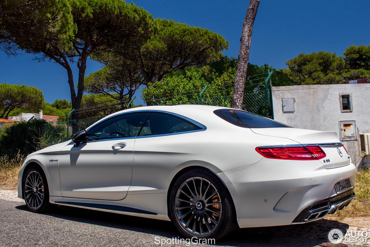 Mercedes amg s 65 coup c217 24 juin 2017 autogespot for 2017 amg s 65 mercedes benz