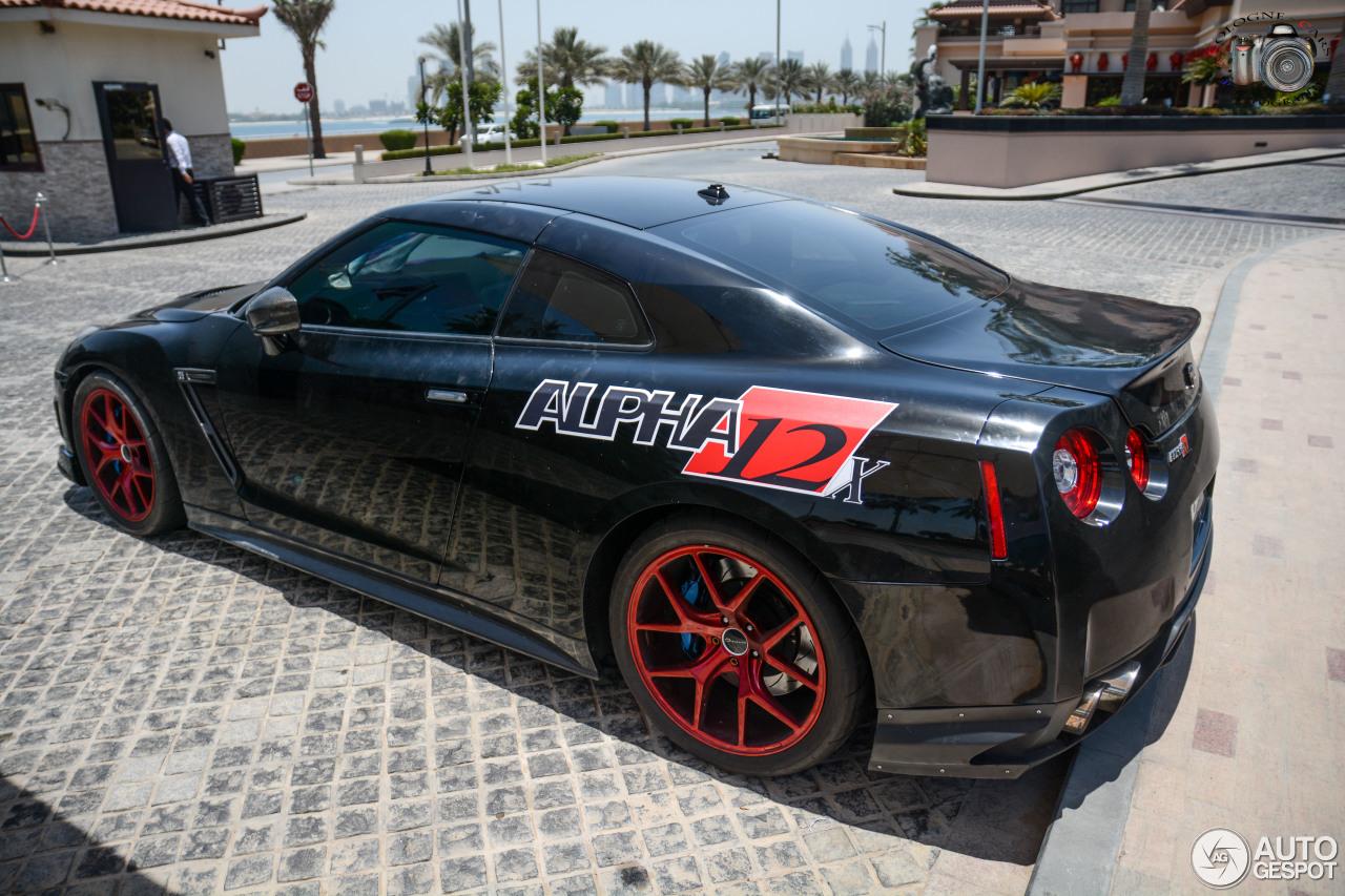 Gtr Alpha 12 >> Nissan Gt R Ams Performance Alpha 12 24 June 2017 Autogespot