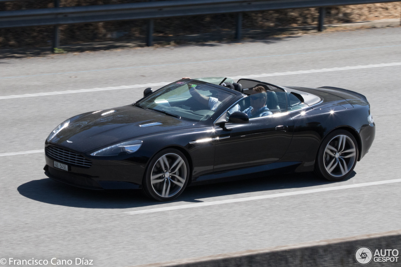 aston martin db9 volante 2013 25 june 2017 autogespot. Black Bedroom Furniture Sets. Home Design Ideas