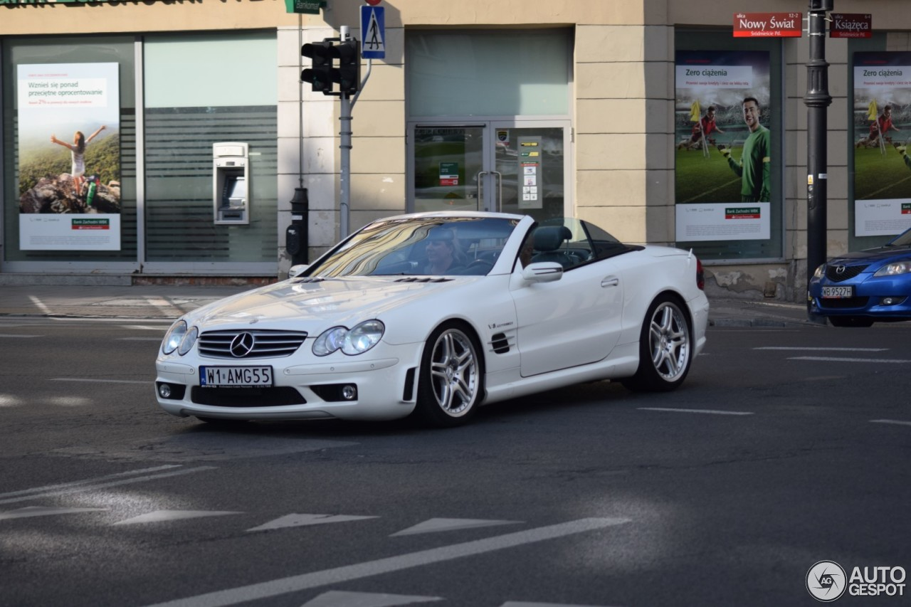 mercedes benz sl 55 amg r230 2006 25 juni 2017 autogespot. Black Bedroom Furniture Sets. Home Design Ideas