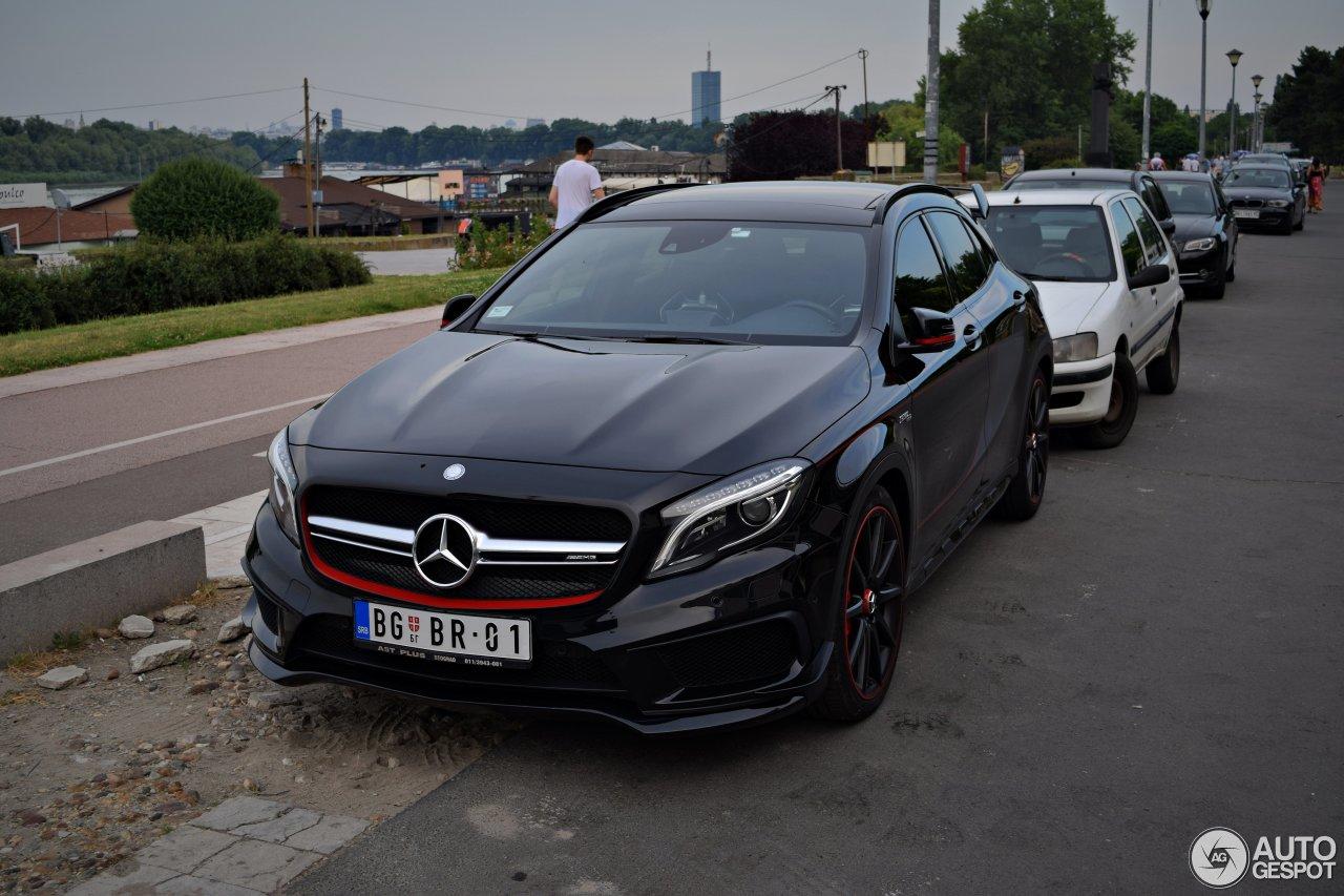 Mercedes benz gla 45 amg edition 1 26 june 2017 autogespot for 2017 mercedes benz amg gla 45