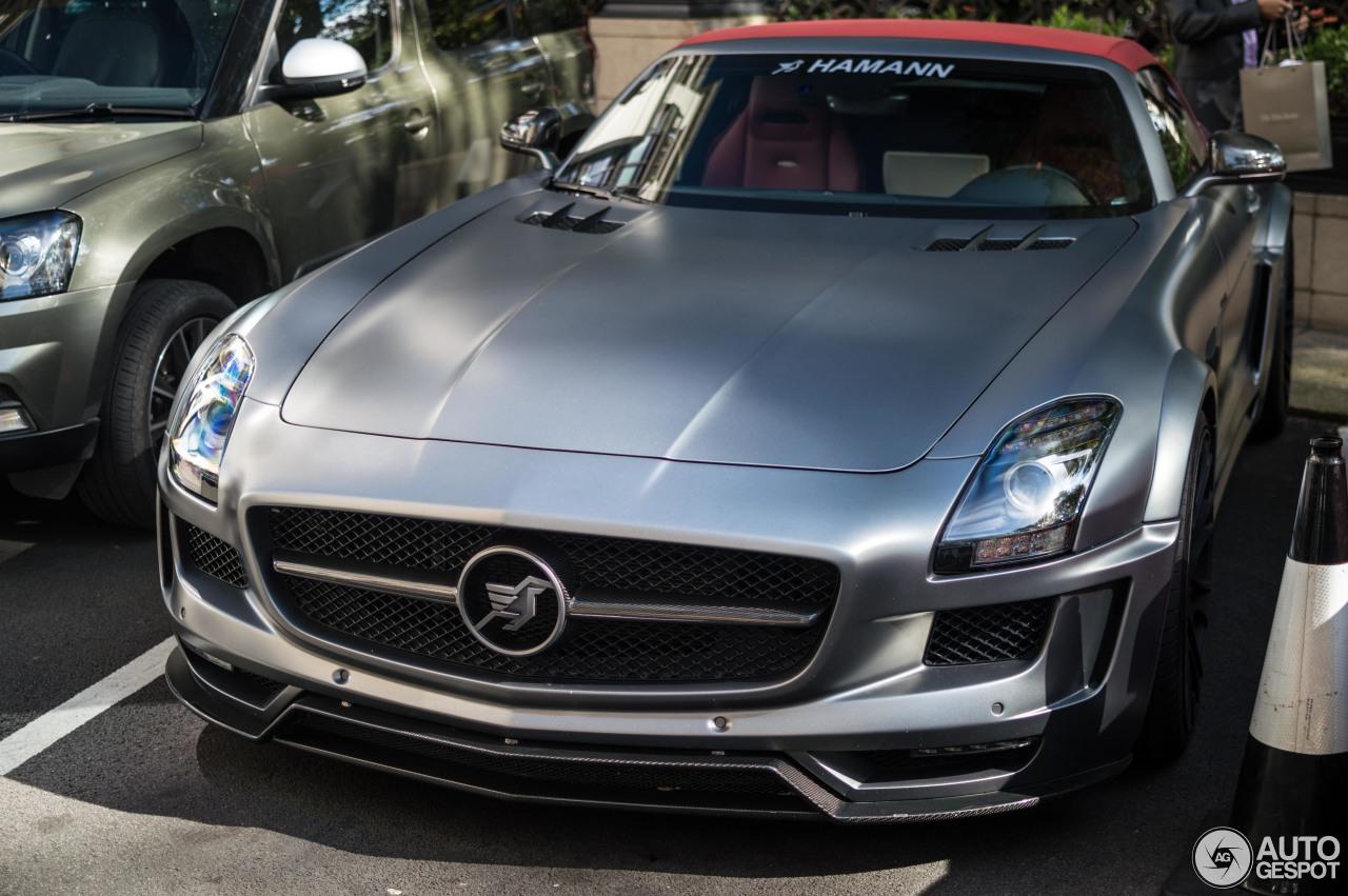 Mercedes benz hamann hawk sls amg roadster 26 june 2017 for Mercedes benz hamann