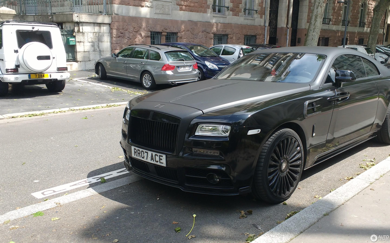 Rolls Royce Mansory Wraith 26 June 2017 Autogespot