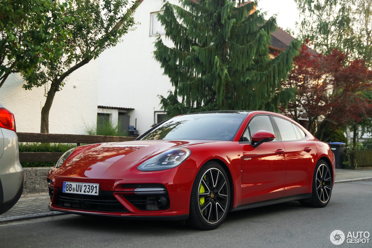 porsche 971 panamera turbo s e hybrid 26 june 2017 autogespot. Black Bedroom Furniture Sets. Home Design Ideas