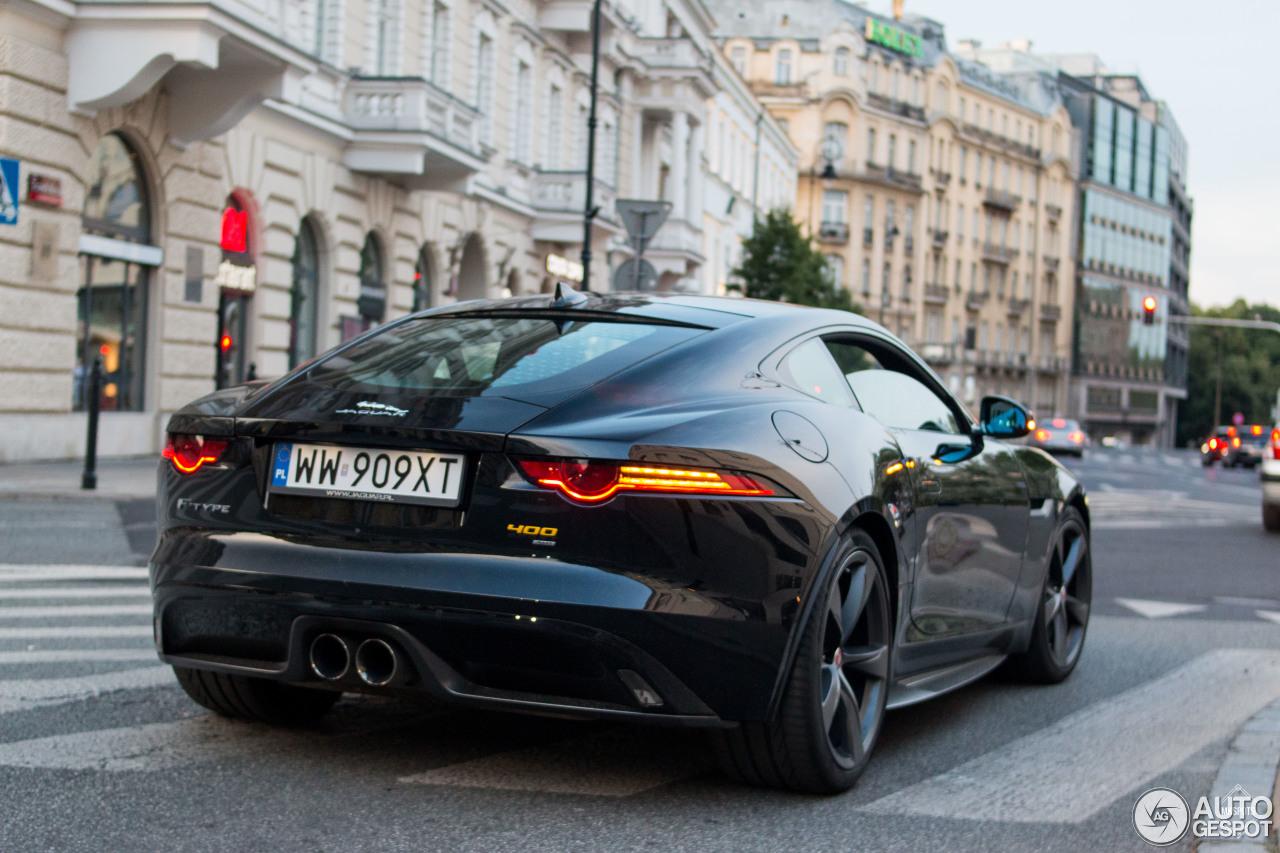 jaguar f type 400 sport coup 27 juin 2017 autogespot. Black Bedroom Furniture Sets. Home Design Ideas
