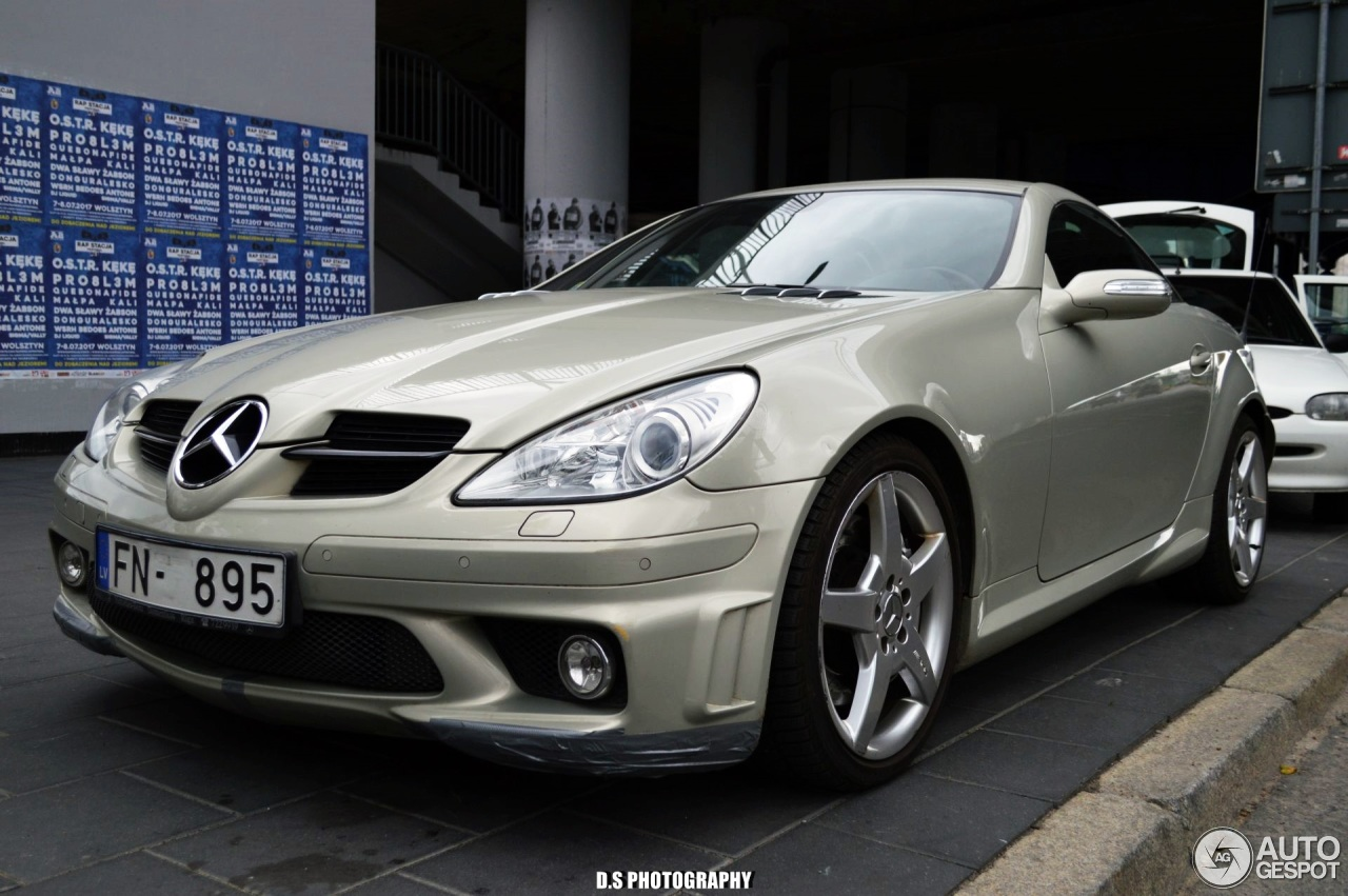 mercedes benz slk 55 amg r171 27 june 2017 autogespot