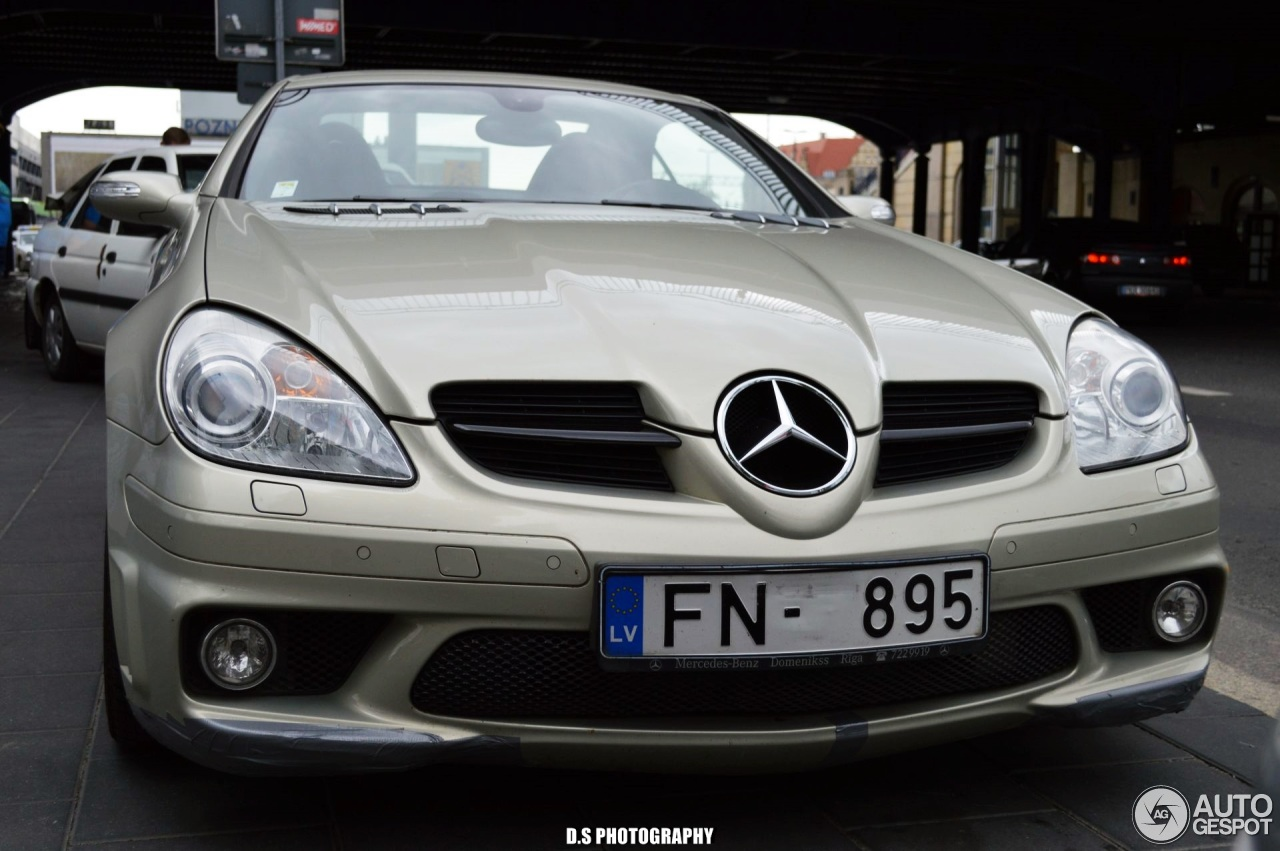 Mercedes benz slk 55 amg r171 27 czerwiec 2017 autogespot for Mercedes benz slk 65 amg