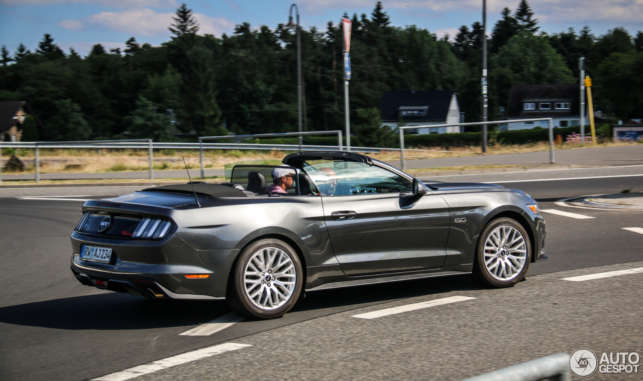 Ford Mustang GT Convertible 2015 - 28 June 2017 - Autogespot