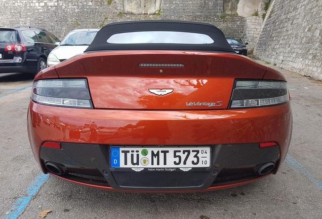 Aston Martin V12 Vantage S Roadster