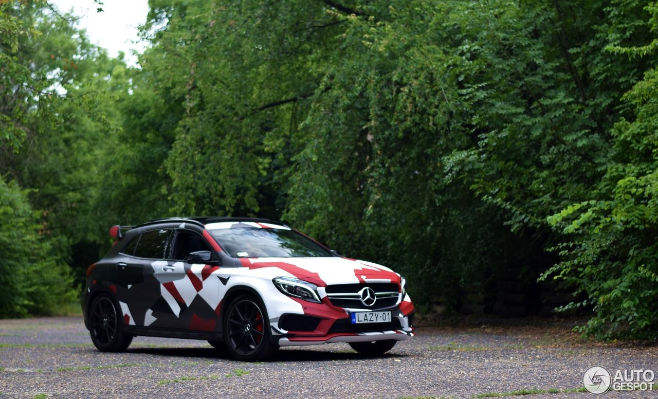 Mercedes benz gla 45 amg x156 30 juni 2017 autogespot for 2017 amg gla 45 mercedes benz