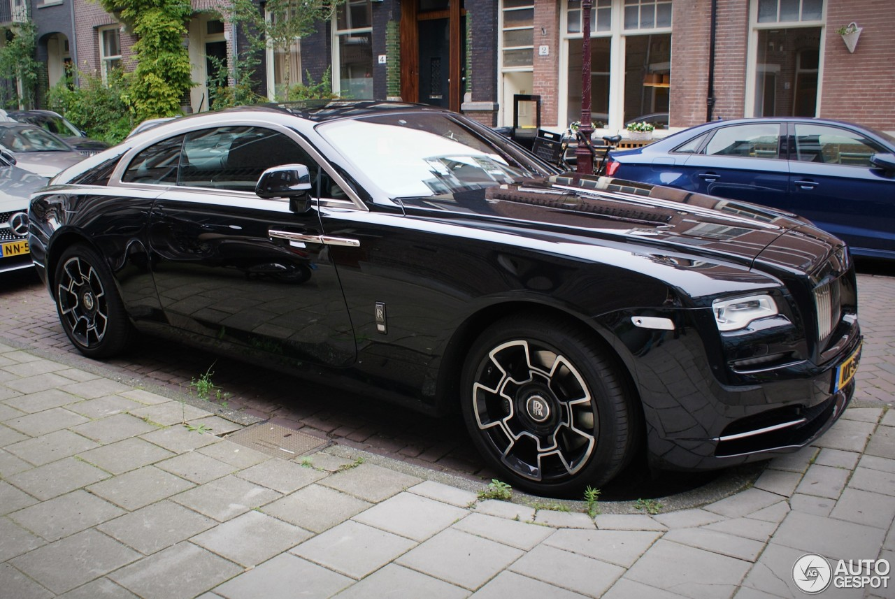 rolls royce wraith black badge 30 juin 2017 autogespot. Black Bedroom Furniture Sets. Home Design Ideas