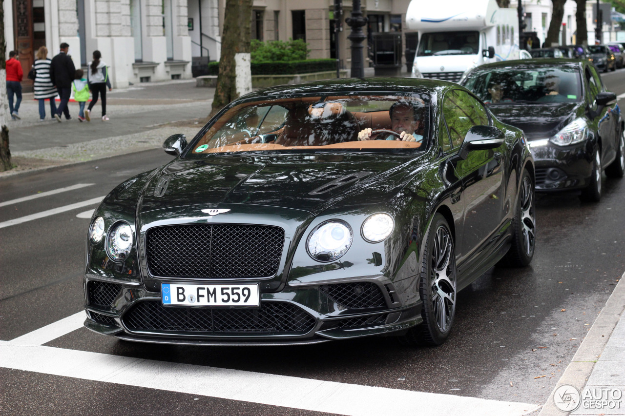 Bentley Continental Supersports Coupé 2018 - 1 July 2017 ...