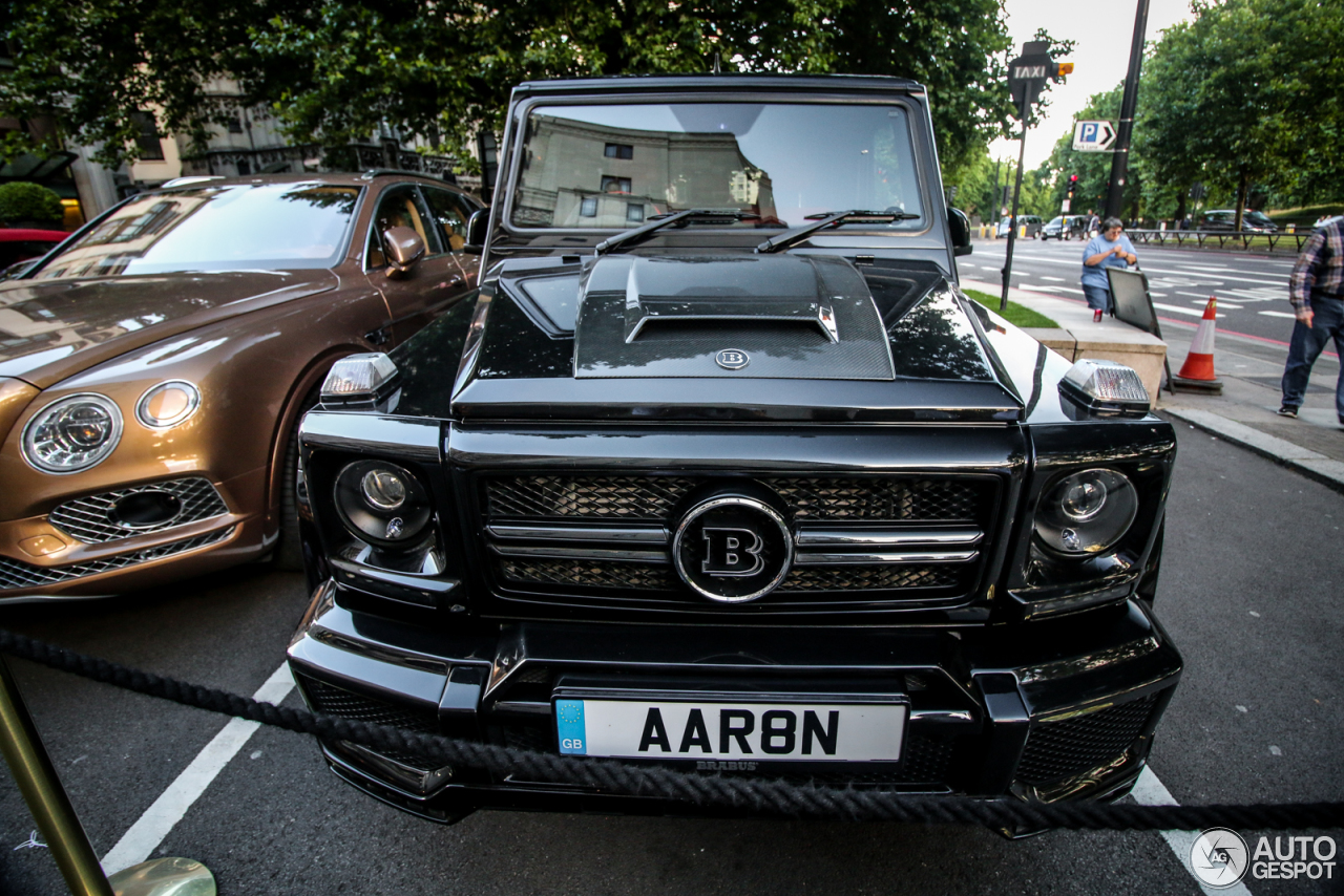 Mercedes Benz Brabus G 700 Widestar 1 July 2017 Autogespot