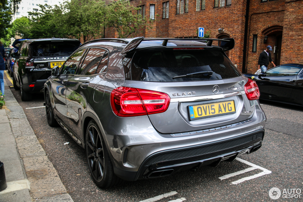 mercedes benz gla 45 amg x156 1 july 2017 autogespot. Black Bedroom Furniture Sets. Home Design Ideas