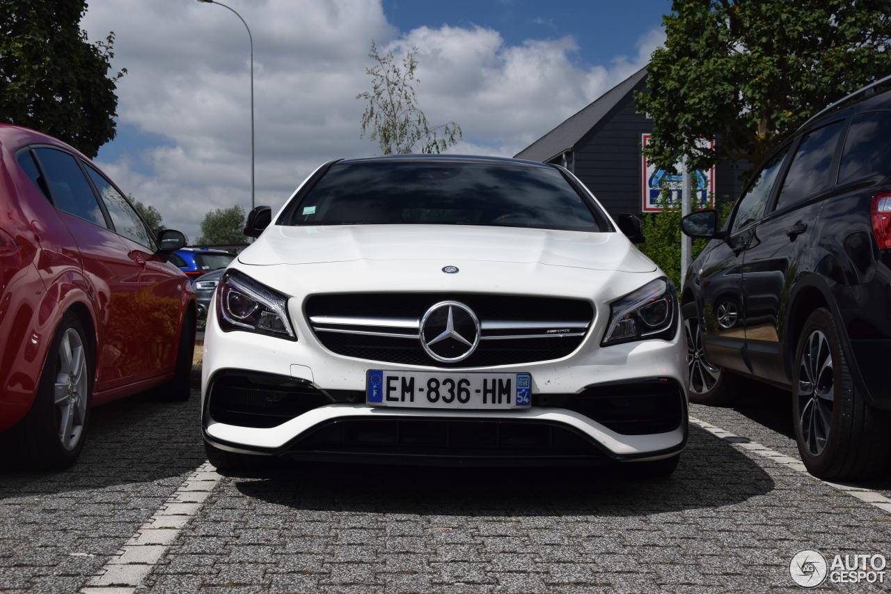 Mercedes Amg Cla 45 : mercedes amg cla 45 shooting brake x117 2017 2 july 2017 autogespot ~ Medecine-chirurgie-esthetiques.com Avis de Voitures