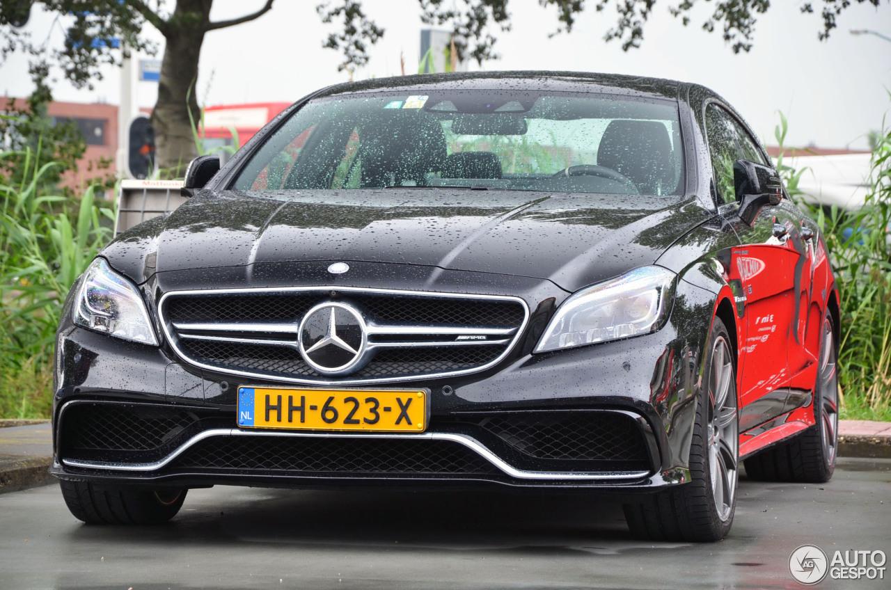 Mercedes benz cls 63 amg s c218 2015