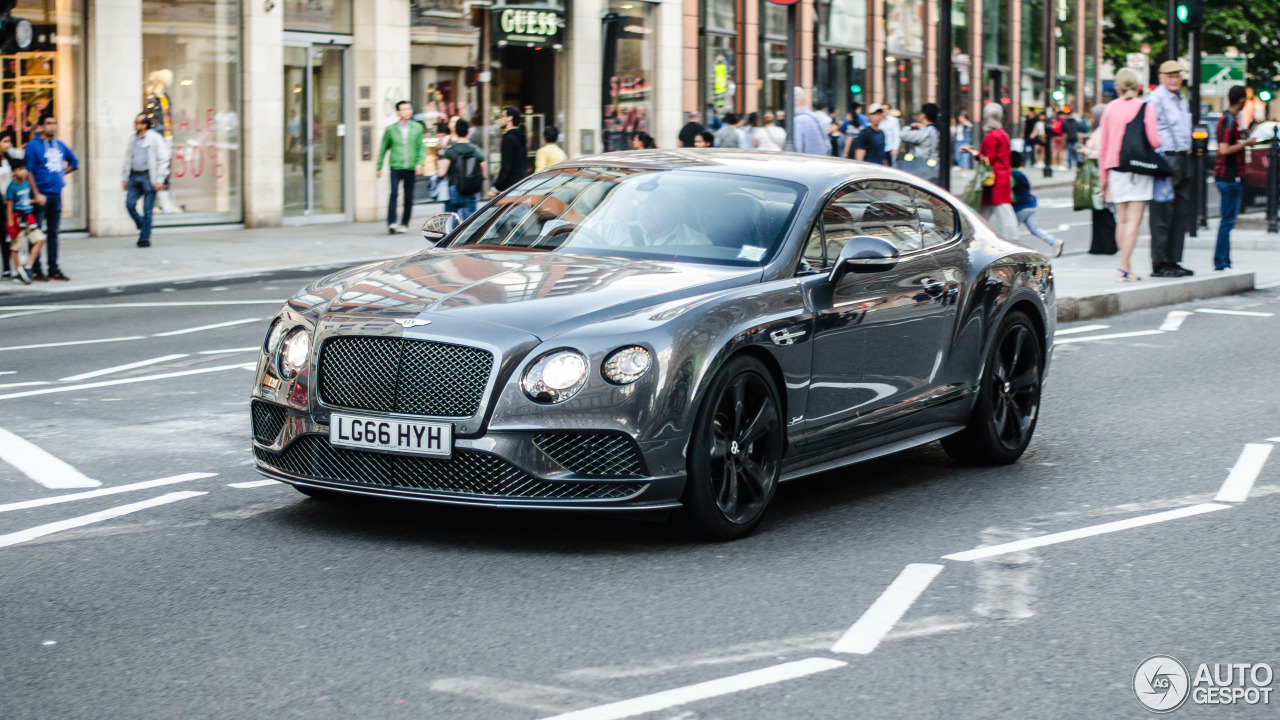 bentley continental gt speed 2016 4 july 2017 autogespot. Black Bedroom Furniture Sets. Home Design Ideas