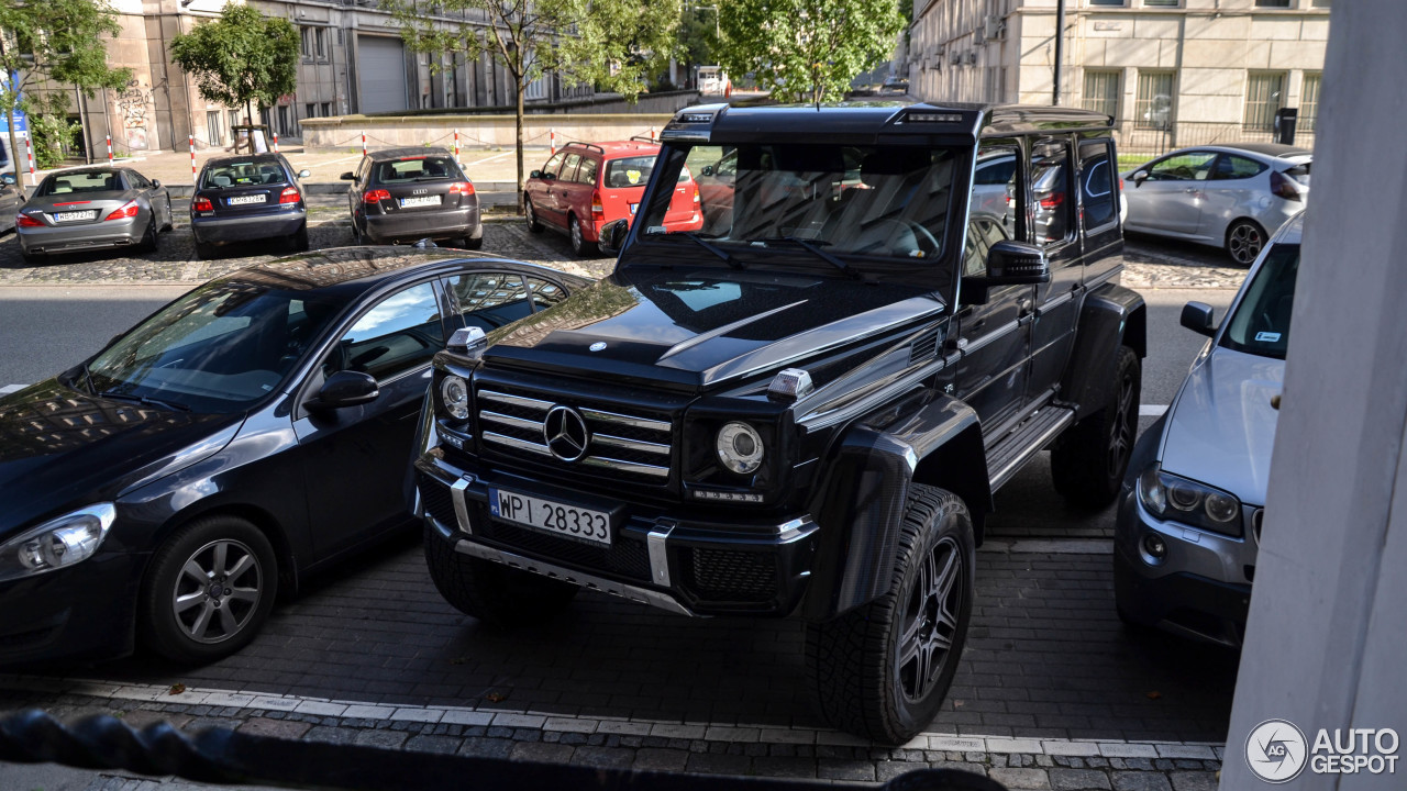 Mercedes benz g 500 4x4 4 lipiec 2017 autogespot for Mercedes benz 500 2017