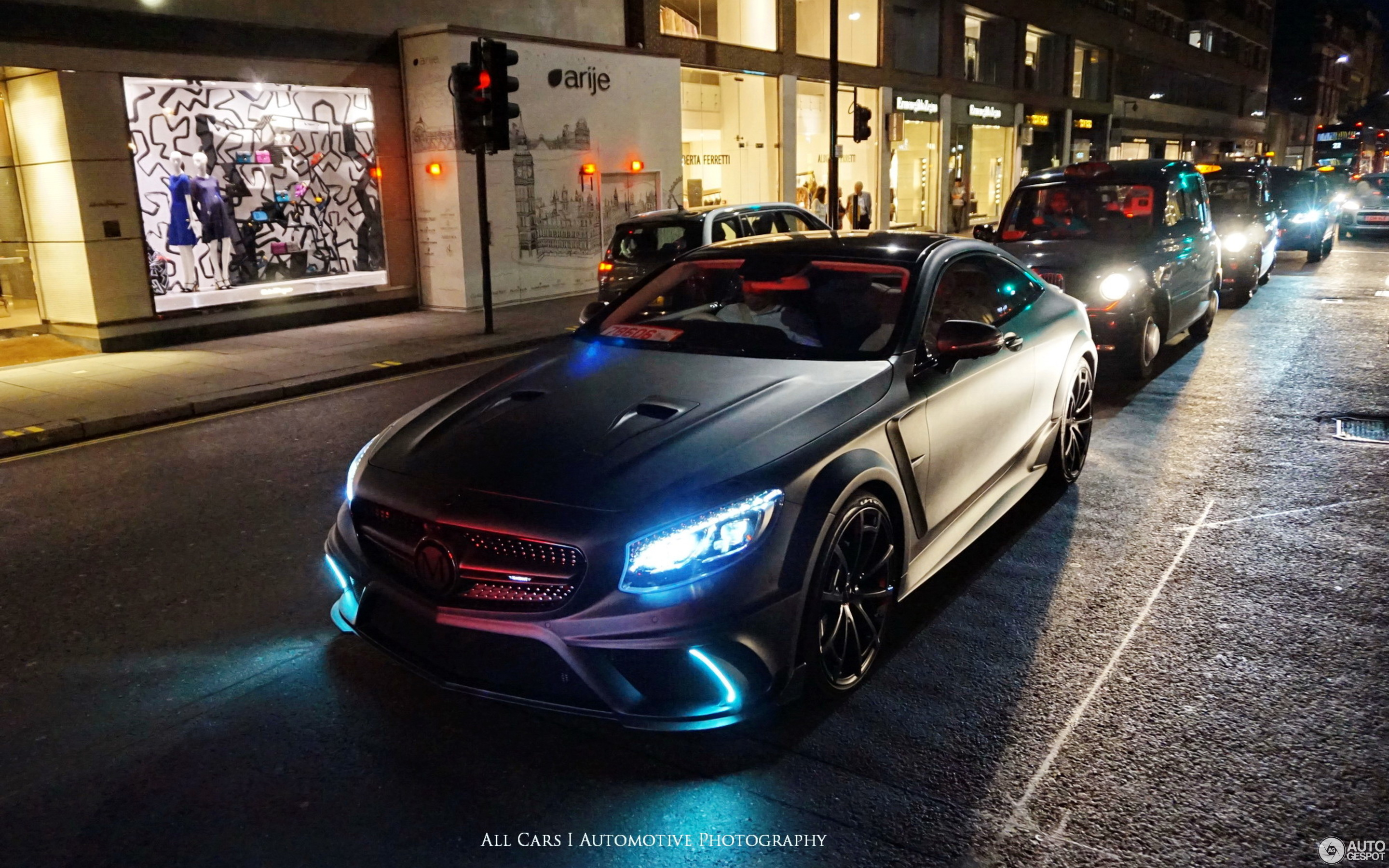 Mercedes S63 Amg Coupe >> Mercedes-Benz Mansory S 63 AMG Coupé - 4 July 2017 ...