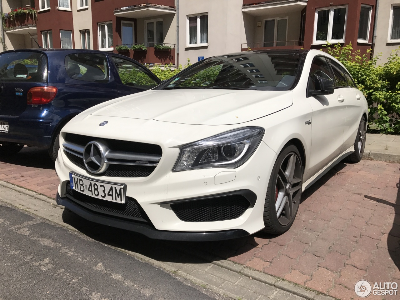 mercedes benz cla 45 amg shooting brake 6 july 2017 autogespot. Black Bedroom Furniture Sets. Home Design Ideas