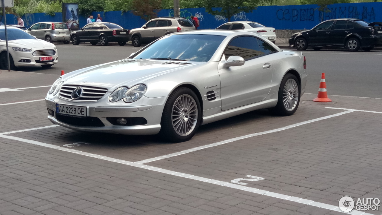 Mercedes benz sl 55 amg r230 6 july 2017 autogespot for Mercedes benz 230 2017