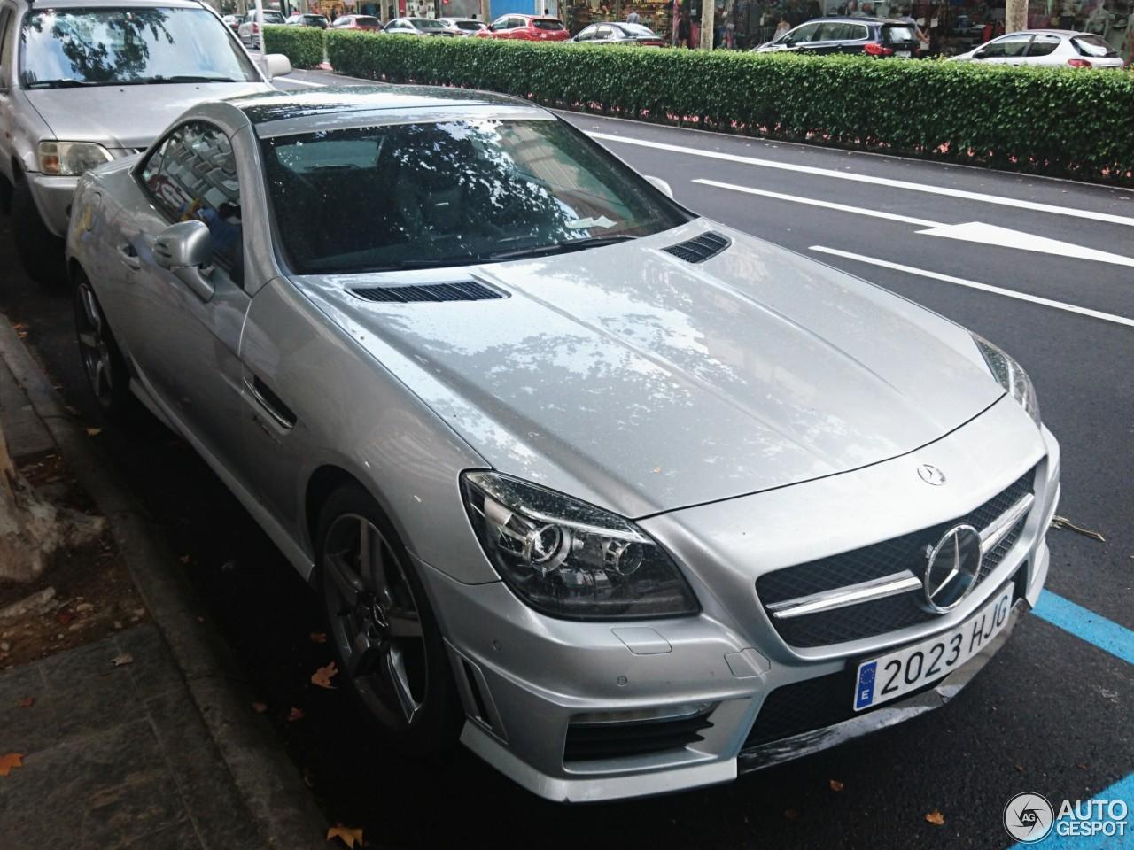 Mercedes benz slk 55 amg r172 7 july 2017 autogespot for Mercedes benz slk amg 2017