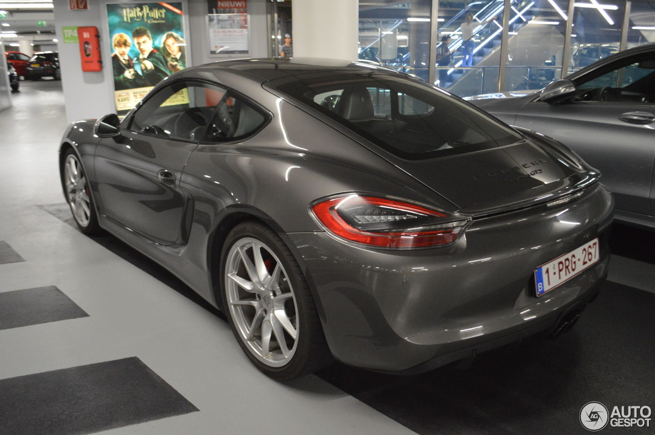 porsche 981 cayman gts 8 july 2017 autogespot. Black Bedroom Furniture Sets. Home Design Ideas