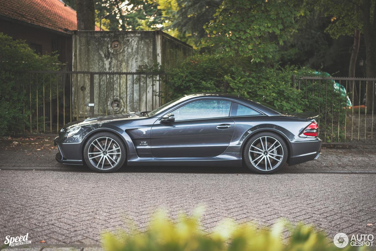 Mercedes benz sl 65 amg black series 11 july 2017 for Mercedes benz sl series