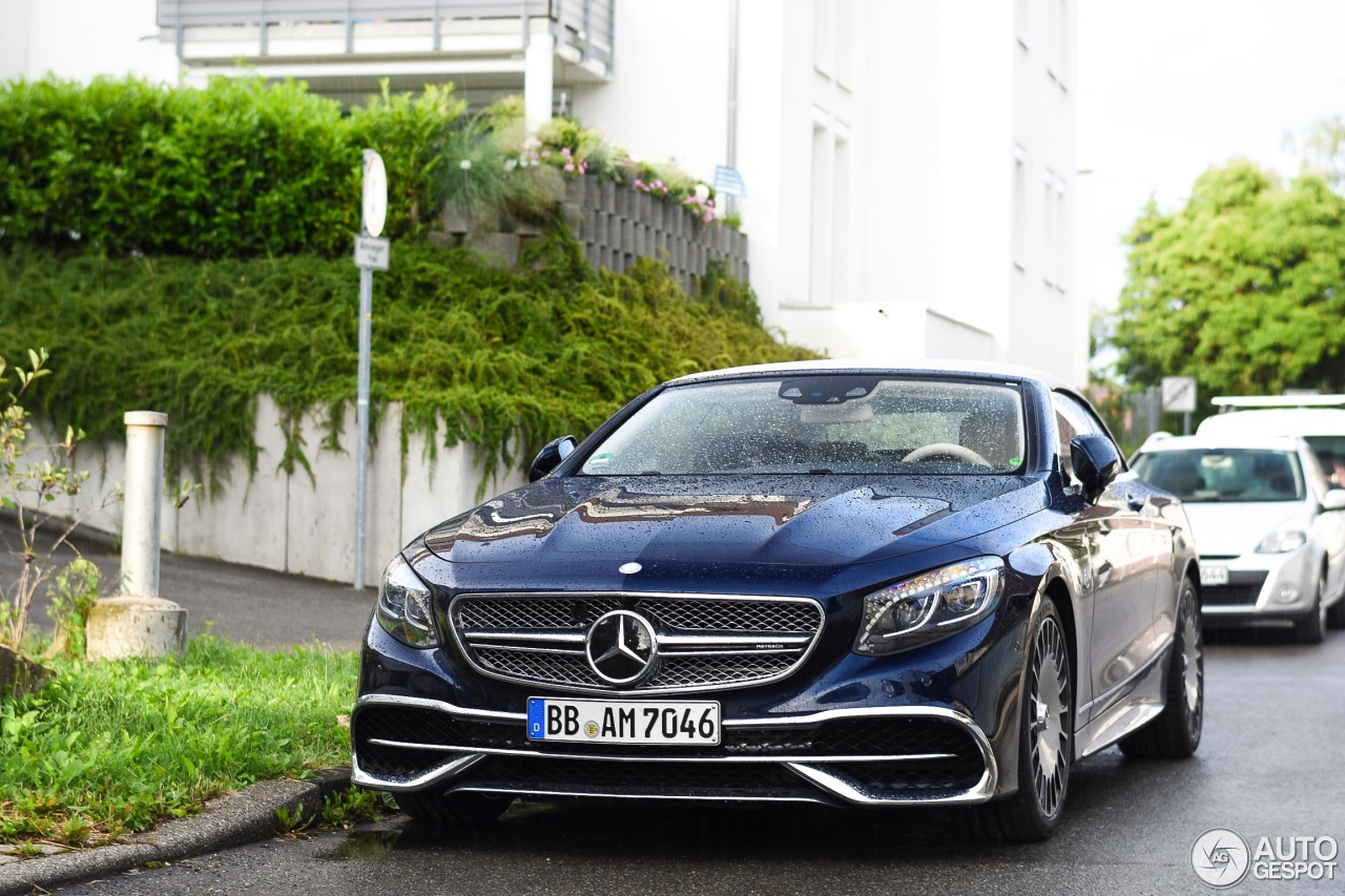 Mercedes maybach s650 cabriolet 12 july 2017 autogespot for Mercedes benz maybach cabriolet