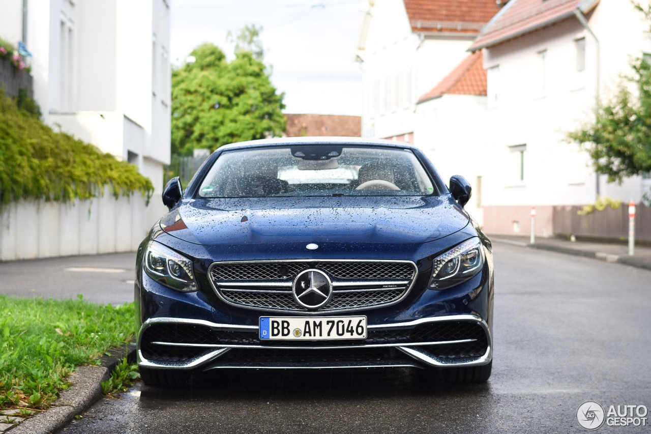 Mercedes maybach s650 cabriolet 12 july 2017 autogespot for Mercedes benz s650