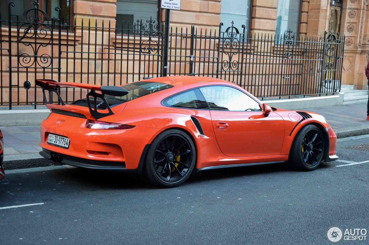 porsche 991 gt3 rs 13 july 2017 autogespot. Black Bedroom Furniture Sets. Home Design Ideas