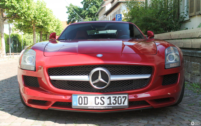 Mercedes Benz SLS AMG Roadster 14 Juli 2017 Autogespot