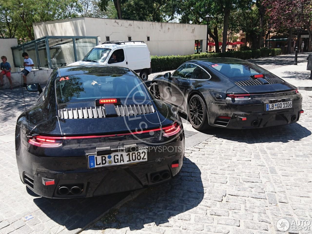 Porsche 992 Carrera 15 July 2017 Autogespot