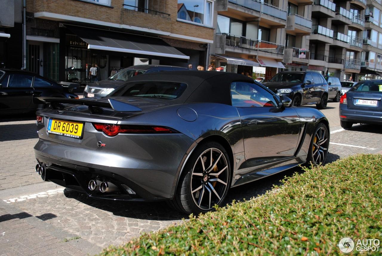 jaguar f type svr convertible 2017 16 juillet 2017 autogespot. Black Bedroom Furniture Sets. Home Design Ideas