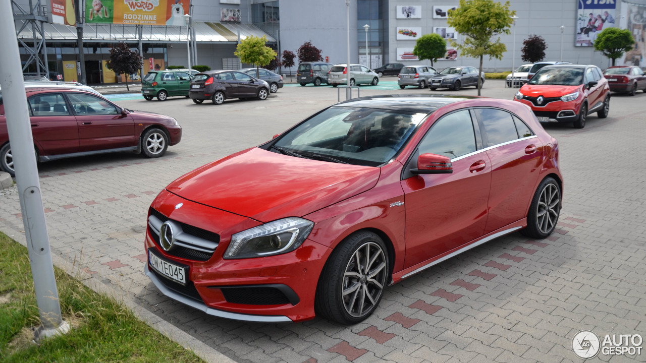 Mercedes benz a 45 amg 16 lipiec 2017 autogespot for Mercedes benz a 45