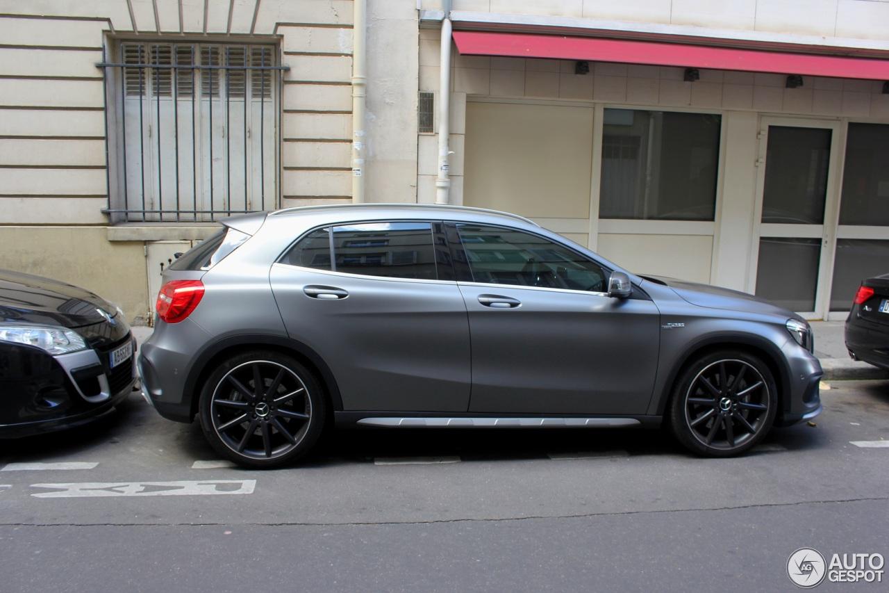 Mercedes benz gla 45 amg x156 16 juillet 2017 autogespot for 2017 mercedes benz amg gla 45