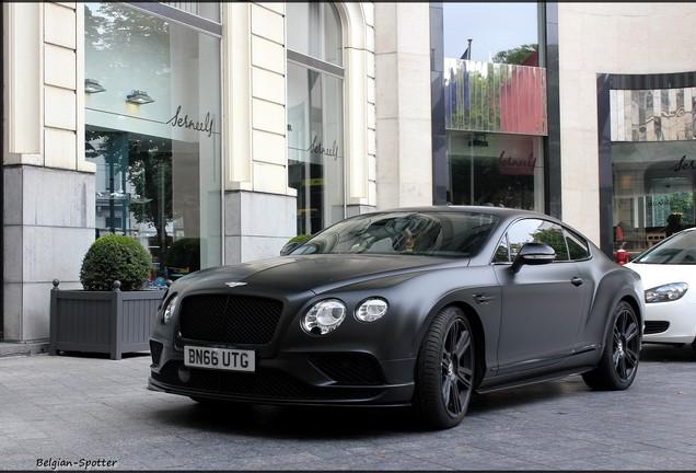 Bentley Continental GT V8 S Black Edition 2016