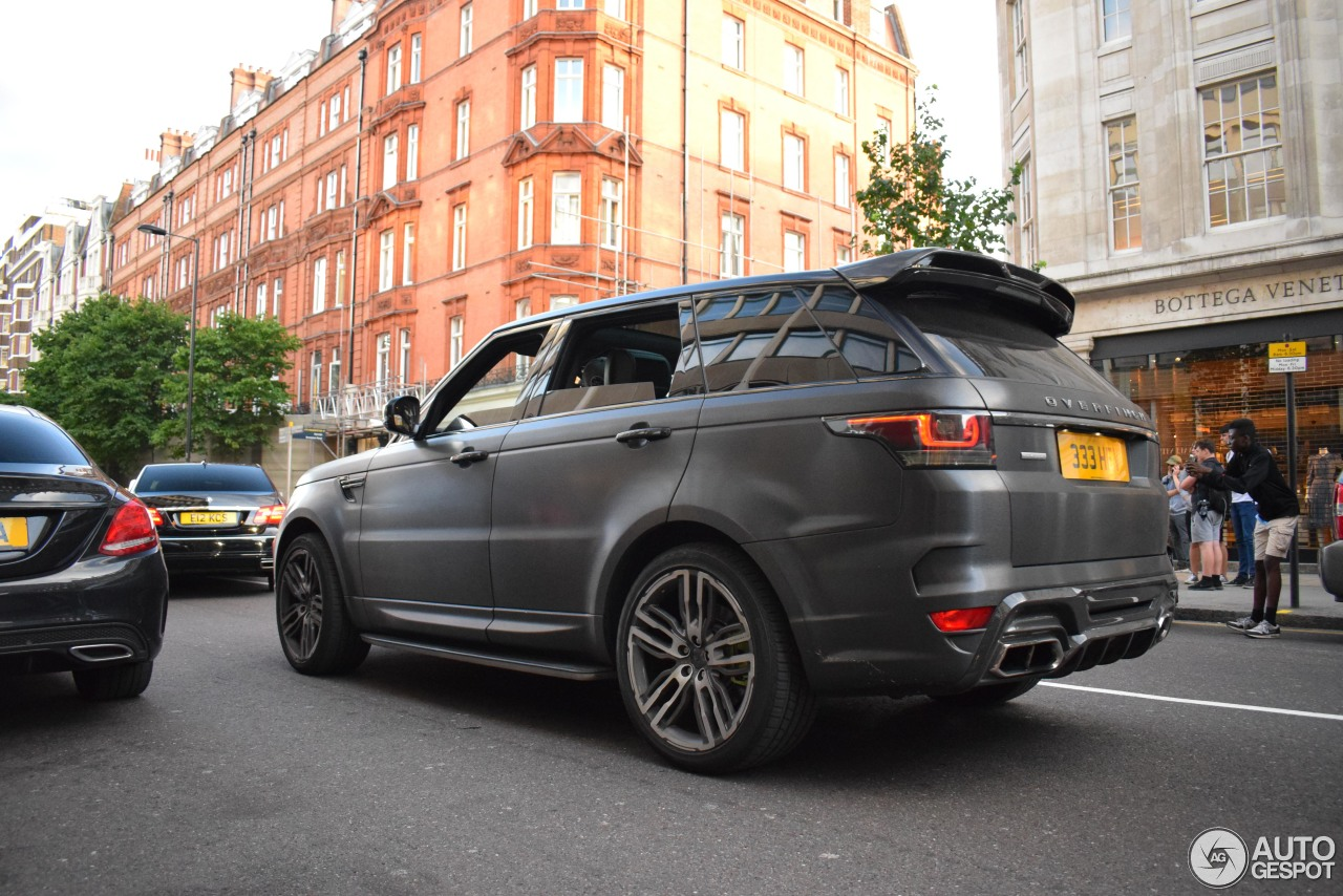 land rover overfinch range rover sport autobiography 2014 18 july 2017 autogespot. Black Bedroom Furniture Sets. Home Design Ideas
