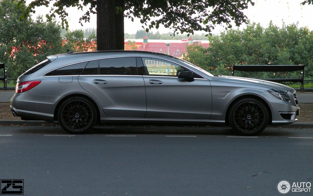 Mercedes benz cls 63 amg x218 shooting brake 19 july for 2017 amg cls 63 mercedes benz