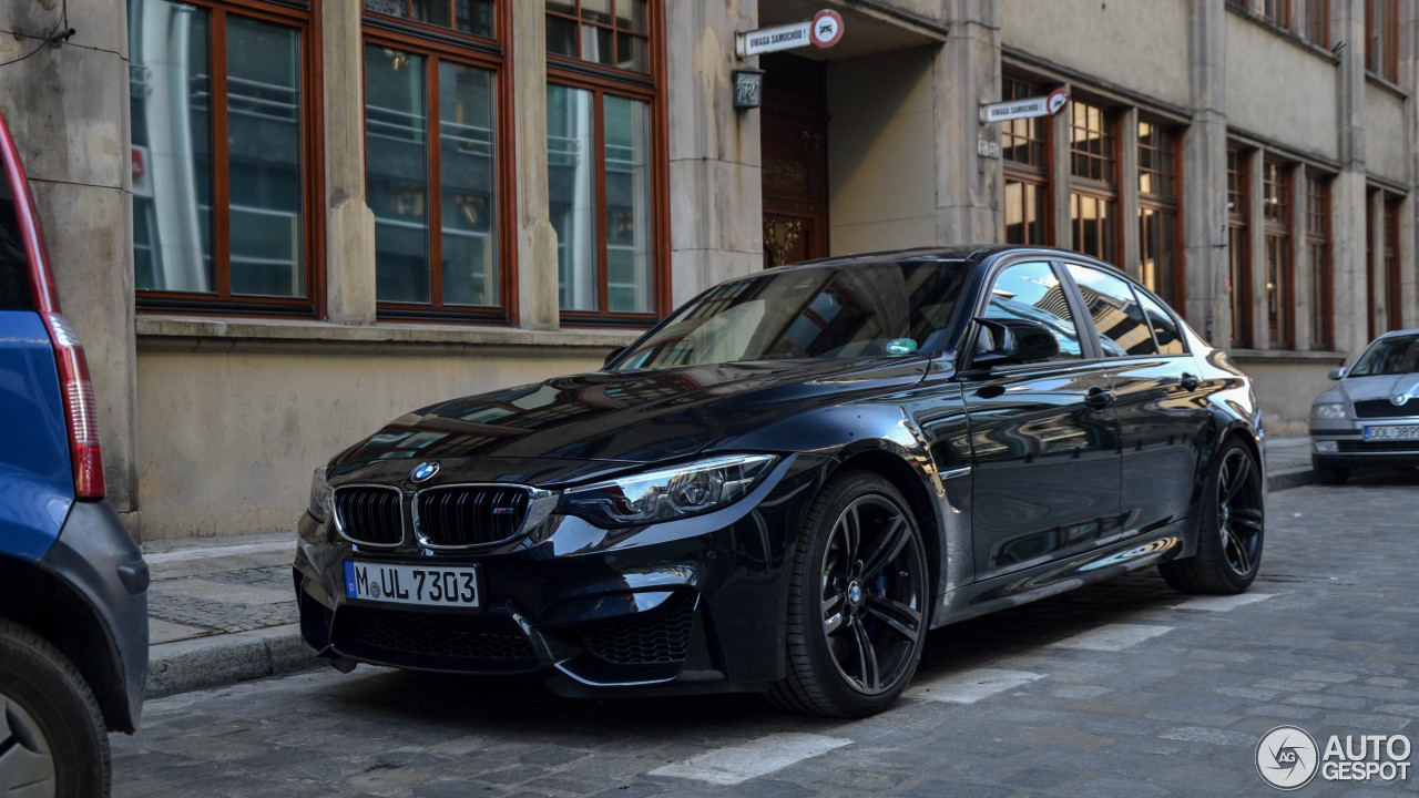 bmw m3 f80 sedan 2017 21 july 2017 autogespot. Black Bedroom Furniture Sets. Home Design Ideas