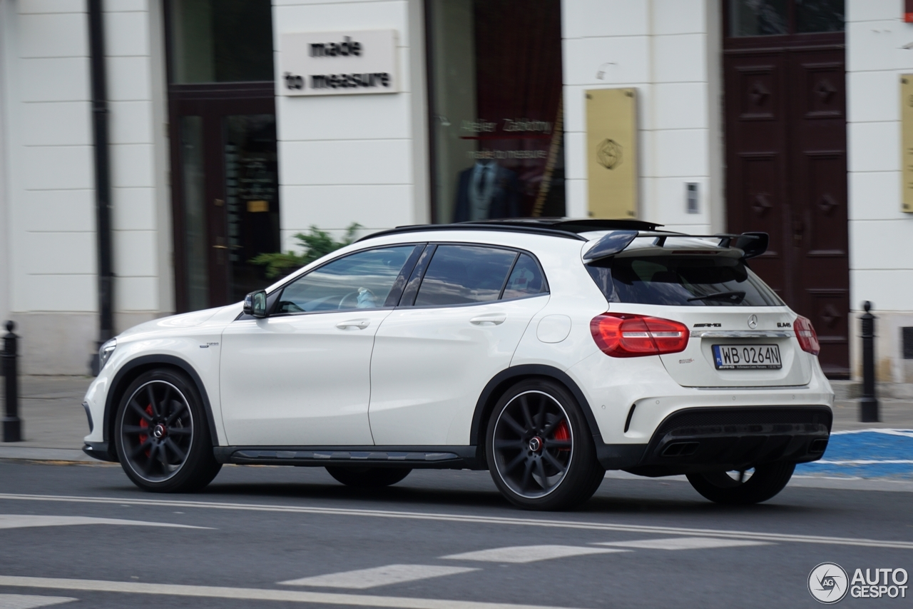mercedes amg gla 45 x156 21 juillet 2017 autogespot. Black Bedroom Furniture Sets. Home Design Ideas
