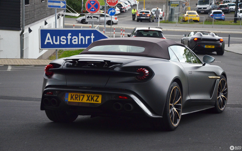 Aston Martin Vanquish Zagato Speedster 24 July 2017 Autogespot