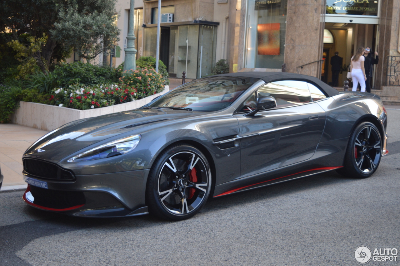 aston martin vanquish s volante 2017 28 july 2017 autogespot. Black Bedroom Furniture Sets. Home Design Ideas