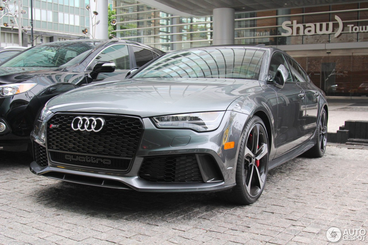 audi rs7 sportback 2015 28 july 2017 autogespot. Black Bedroom Furniture Sets. Home Design Ideas