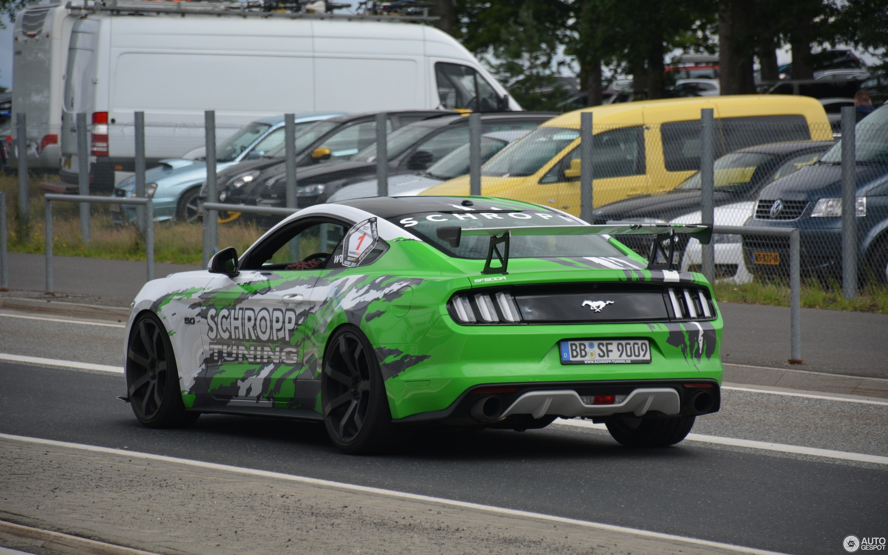 Ford mustang gt 2017 sf600r by schropp tuning