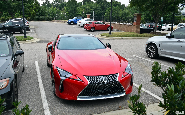 Lexus LC 500 28 July 2017 Autogespot