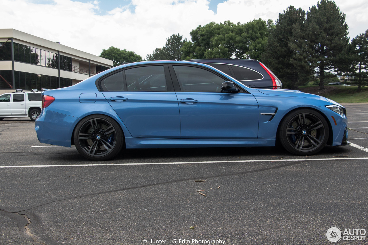 Bmw M3 F80 Sedan 2014 29 July 2017 Autogespot