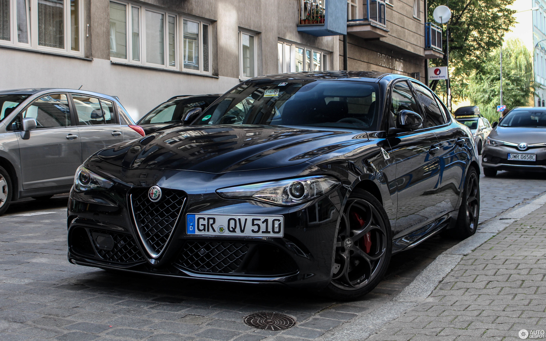 Alfa Romeo Giulia Quadrifoglio 30 Juli 2017 Autogespot