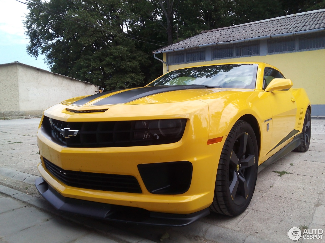 Chevrolet Camaro Ss Transformers Edition 31 July 2017