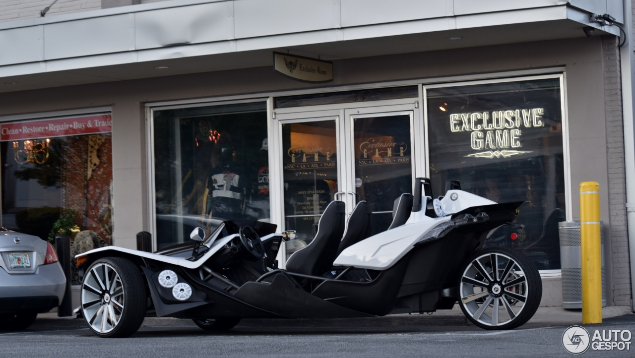 Polaris Slingshot 4 Seat Conversion by Underground
